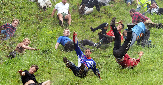 Coopers Hill Cheese Rolling and Wake